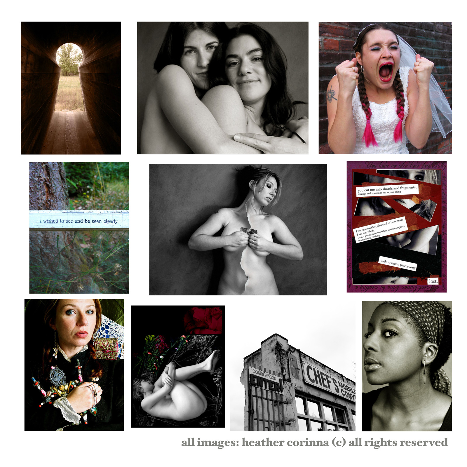 A selection of Heather's photography